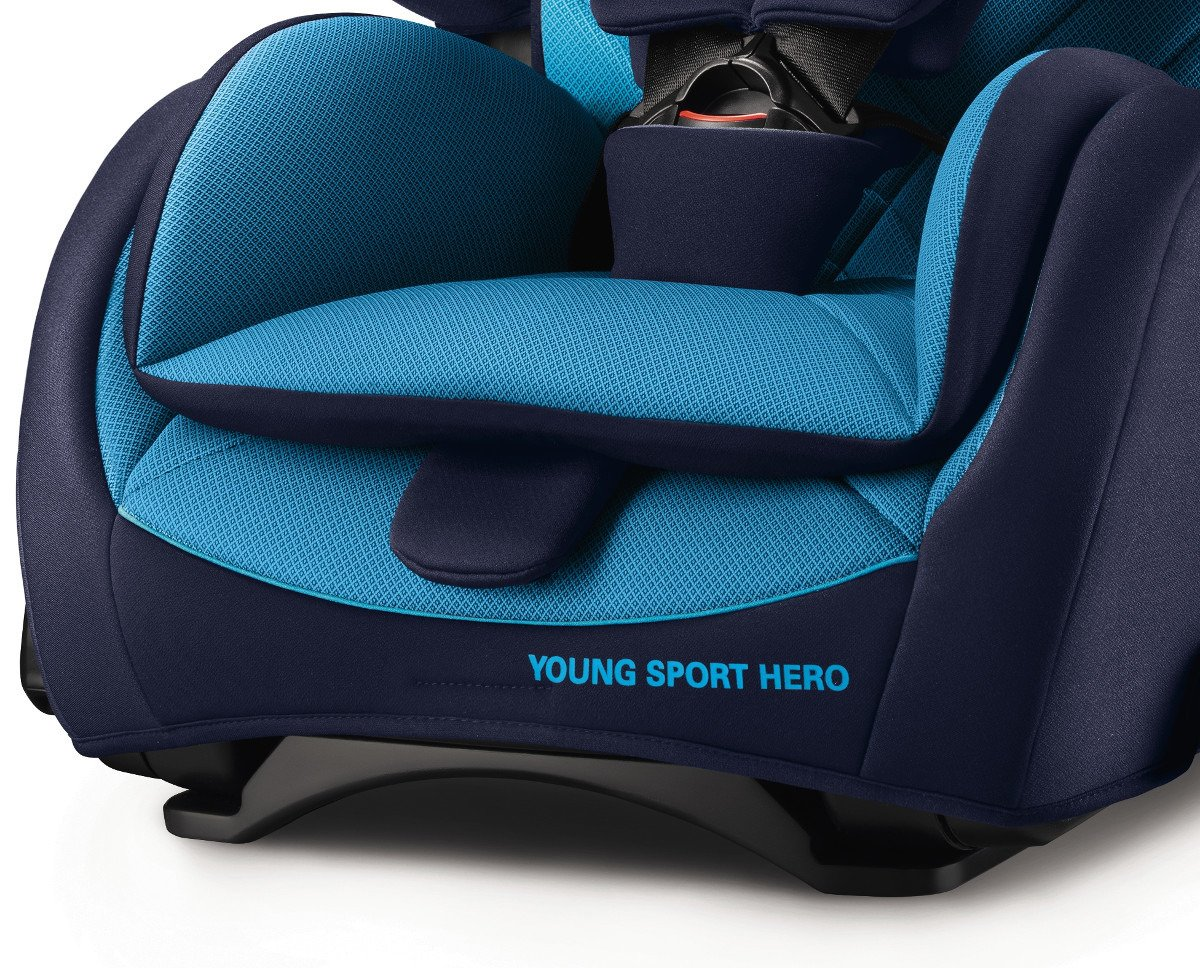Recaro Young Sport Hero Performance Black Fotelik Samochodowy 9 36kg Fotelikirecaro Pl